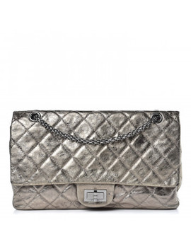Chanel Metallic Aged Calfskin Quilted 2.55 Reissue 227 Flap Gold by Chanel