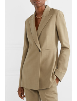 Ciel Wool Blend Crepe Blazer by The Row