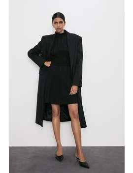 Strickkleid Mit Volant Alles Anzeigen Kleider Damen by Zara