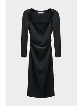 Drapiertes RÖhrenkleid Alles Anzeigen Kleider Damen by Zara