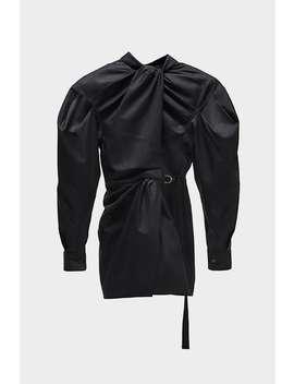 Minikleid Mit Knoten Alles Anzeigen Kleider Damen by Zara