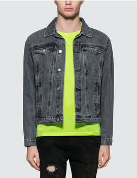 The Razor Denim Jacket by              Misbhv