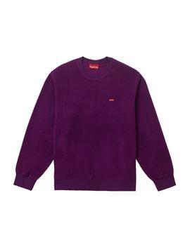 Supreme Polartec Small Box Crewneck Purple by Stock X