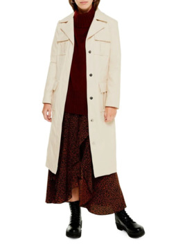 Tula Utility Trench Coat by Topshop