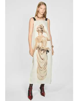 Statue Print Dress by Zara