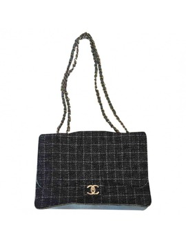 Timeless/Classique Tweed Handbag by Chanel