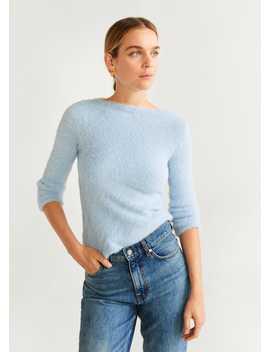 Sweter Z Futrem by Mango