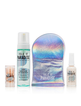 Isle Of Paradise 4 Piece Ultimate Glow Tan Collection by Qvc