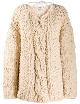 Loose Weave Cable Knit Jumper by Acne Studios