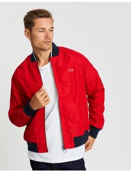 Reversible Varsity Jacket by Lacoste