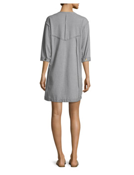 Palma French Terry Cotton Dress by Neon Buddha