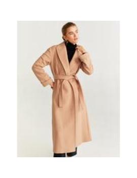 Wrap Coat by Mango