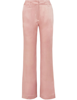 Satin Flared Pants by Ann Demeulemeester