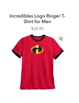 Men's Incredibles Shirt by Disney