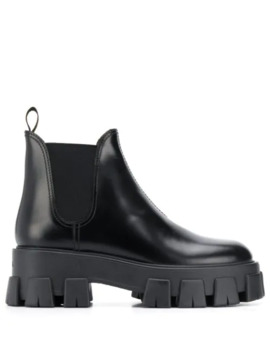 Beatle Ankle Boots by Prada