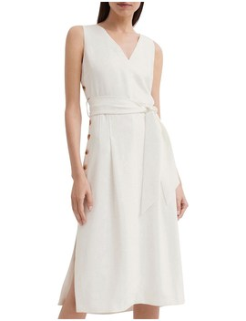 Side Button Dress by Witchery