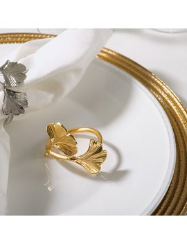 Ginko Napkin Ring by Birch Lane