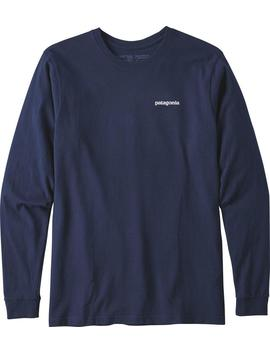 Long Sleeved P 6 Logo Responsibili Tee   Men's by Patagonia