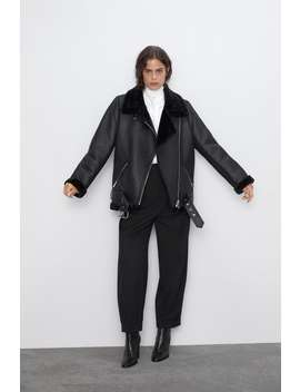 Double Faced Biker Jacket by Zara