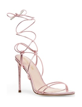 Winnie Harlow X Steve Madden Badgirl Ankle Wrap Stiletto Sandal by Steve Madden