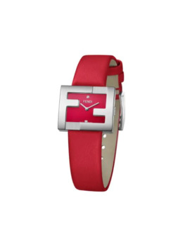 Ff Logo Embellished Watch by Fendi