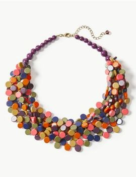 Disc Multi Necklace by Marks & Spencer