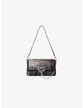 Sac Charm En Satin Et Cuir by Givenchy