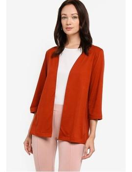 Basic Long Sleeves Cardigan by Zalia Basics