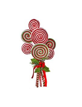 "Frosted Lollipop Bundle With Holly 20"" By Valerie by The Valerie Parr Hill Collection"