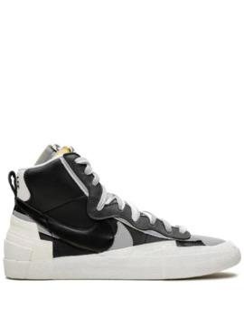 Sacai X Nike Blazer Mid High Top Sneakers by Nike