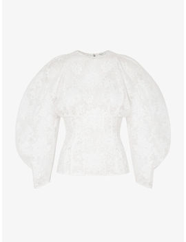 Top En Dentelle à Manches Oversized by Givenchy