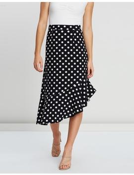 Ciara Frill Hem Skirt by Atmos&Here