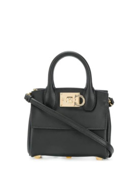 Ferragamo Studio Micro Tote Bag by Salvatore Ferragamo