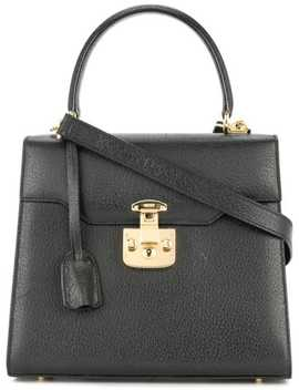 Lady Lock Logos 2way Hand Bag by Gucci Pre Owned
