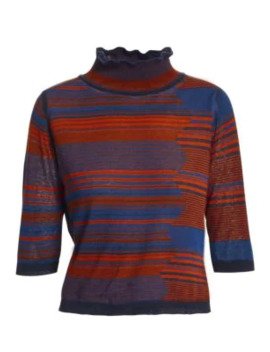 Space Dye Turtleneck Knit Sweater by See By Chloé