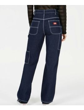 Dickies Carpenter Pants Jeans High Rise Dark Rinse Size 15 Nwt by Dickies