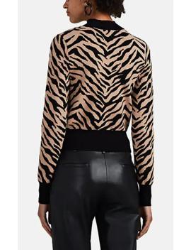 Lola Zebra Pattern Sweater by A.L.C.