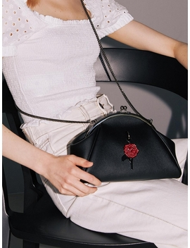 Momo Bag 11° Black Metal Black Rose by Samo Ondoh