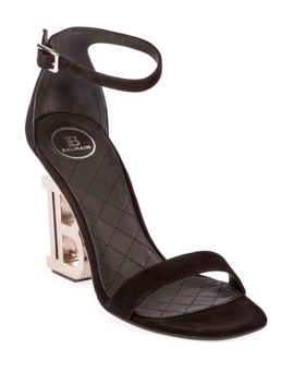 Naomi Pb Heel Sandals by Balmain