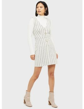 Blair Boucle Pinafore Dress by Miss Selfridge