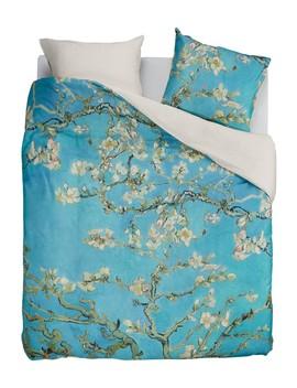 Almond Blossom Dekbedovertrekset Van Katoensatijn by Beddinghouse X Van Gogh