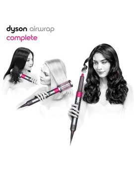 Airwrap™ Complete Styler   For Multiple Hair Types And Styles   Fuchsia, Nickel by Dyson