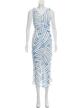 Silk Striped Dress W/ Tags by Cult Gaia