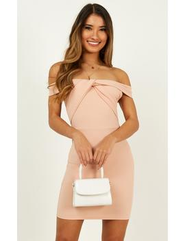 Peace Talks Dress In Blush by Showpo Fashion