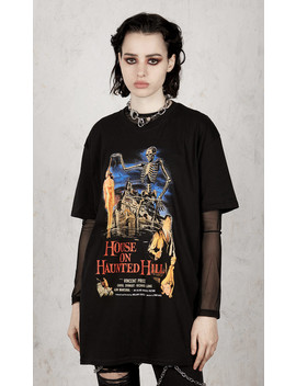 House On Haunted Hill T Shirt by Disturbia