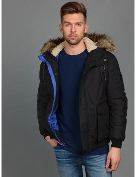 Originals Jacket With Faux Fur Hood by Jack & Jones