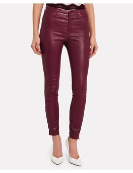 Baroness Mid Rise Leather Leggings Baroness Mid Rise Leather Leggings by J Brand J Brand