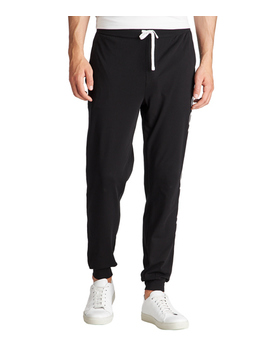 Identity Drawstring Stretch Cotton Joggers by Boss Identity Drawstring Stretch Cotton Joggers