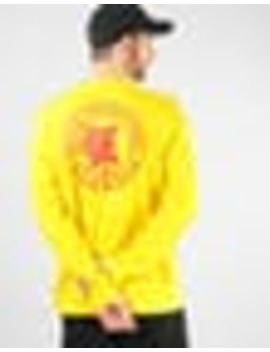 Adidas X Evisen L/S T Shirt   Yellow/Scarlet by Route One