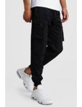 Smart Utility Joggers by Boohoo Man